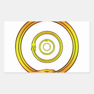 Ouroboros Rectangular Sticker