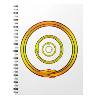 Ouroboros Spiral Notebook