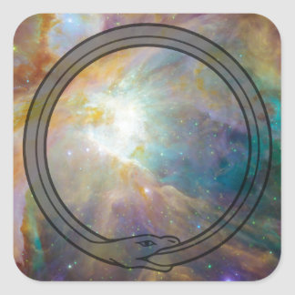 Ouroboros Square Sticker