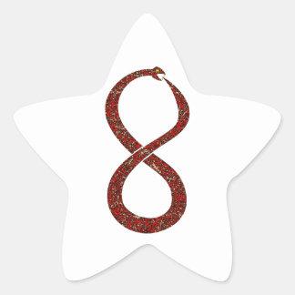 Ouroboros Star Sticker