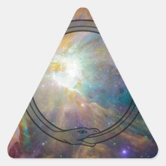 Ouroboros Triangle Sticker