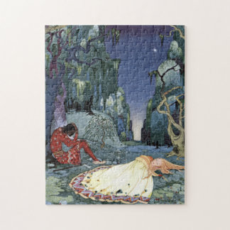Ourson and Violette by Virginia Frances Sterrett Puzzle