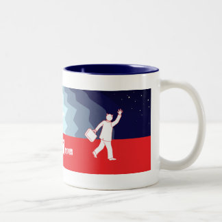 Out 4 Sail Two-Tone Coffee Mug