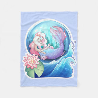 Out at Sea Fleece Blanket