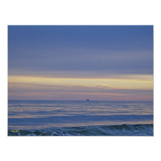 Out At Sea Poster