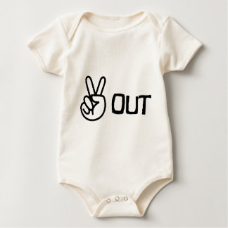 Out Baby Bodysuit