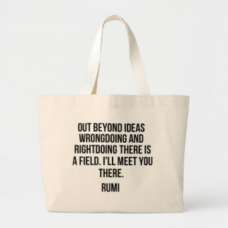 Out beyond ideas... Rumi Large Tote Bag