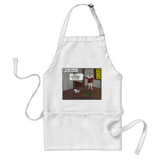 Out Damned Spot Apron