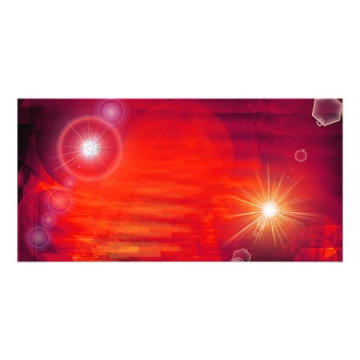 OUT in space Photo Greeting Card
