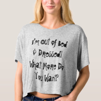 Out of Bed T-Shirt