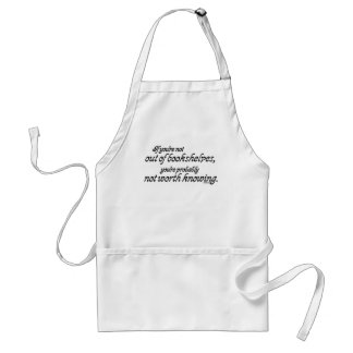 Out of Bookshelves Adult Apron