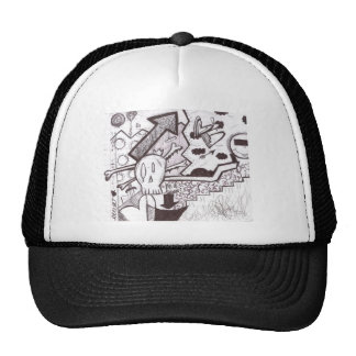 Out of Hell Trucker Hat