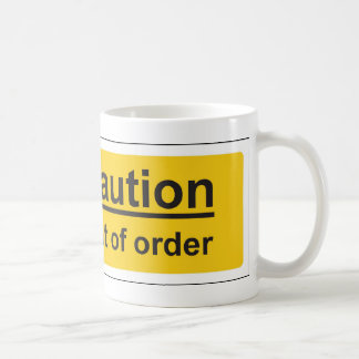 out of order coffee mug
