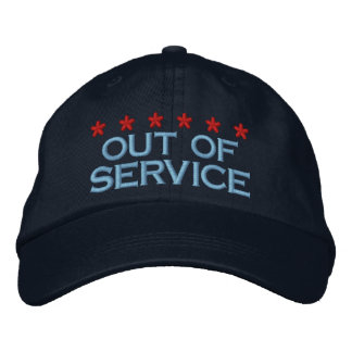 OUT OF SERVICE - 002 EMBROIDERED HAT