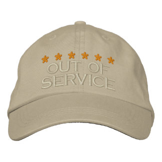 OUT OF SERVICE - 003 EMBROIDERED HAT