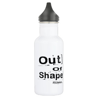 Out of Shape Fitness Water Bottle