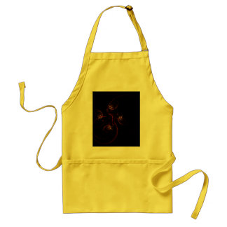 Out of the Dark Abstract Art Apron