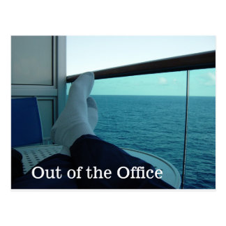 Out of the Office Postcard