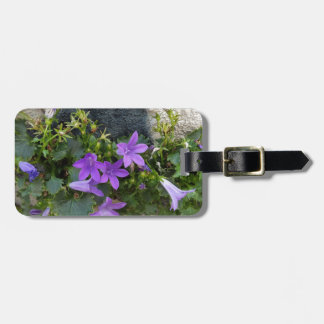 out of the wall flower luggage tag