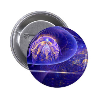 Out of this World 6 Cm Round Badge