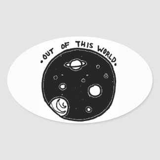 Out of This World Bumper Sticker