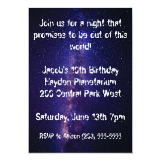 Out of this World Invitation
