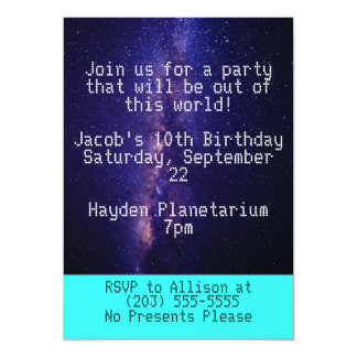 Out of this World Invitation II