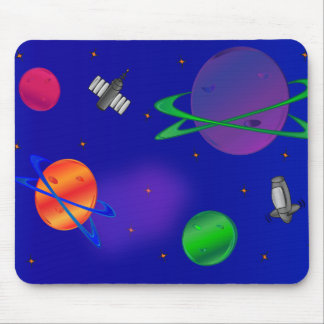 Out of this World Space Mousepad