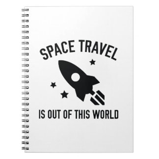 Out Of This World Spiral Note Books