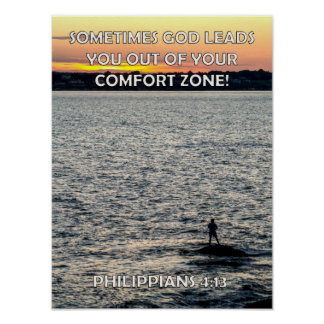 Out Of Your Comfort Zone Poster