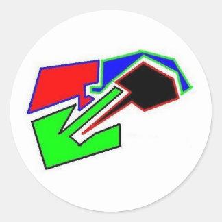 out rage skate team logo sticker