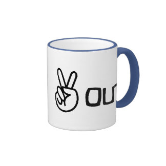 Out Ringer Coffee Mug