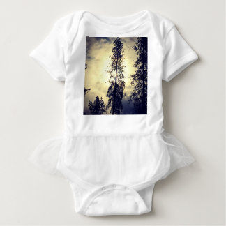 Out the kitchen window baby bodysuit