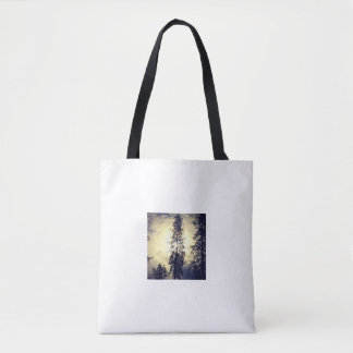 Out the kitchen window tote bag