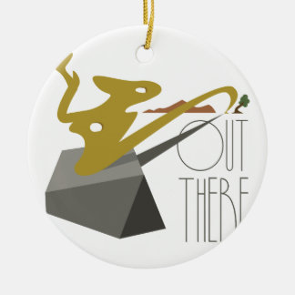 Out There Landscape Ceramic Ornament