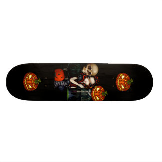 Out Trick-or-Treating - Halloween Skateboard