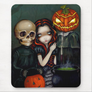 Out Trick-or-Treating Mousepad