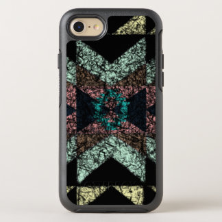 Out-worn tribal pattern. OtterBox symmetry iPhone 7 case