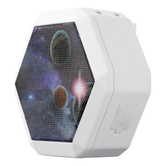 Outa Space White Boombot Rex Bluetooth Speaker