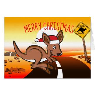 Outback Christmas Card