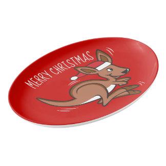 Outback Christmas Porcelain Serving Platter