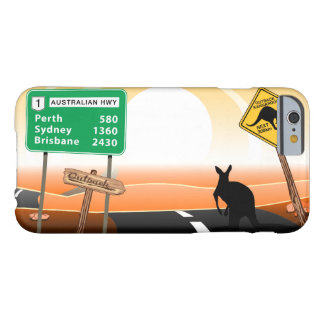 Outback kangaroo barely there iPhone 6 case