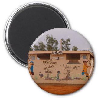 Outback toilet block, Australia Magnet