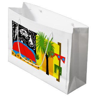 Outback -Uluru - Large glossy gift bag