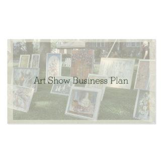Outdoor Art Show Pack Of Standard Business Cards