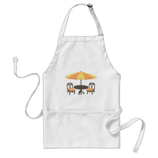 Outdoor Cafe Seating Standard Apron