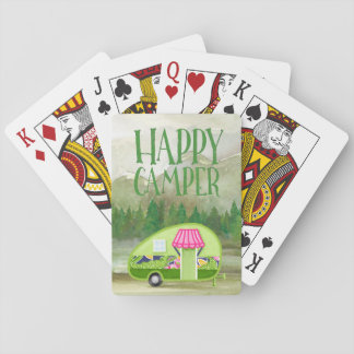 Outdoor Camper Playing Cards