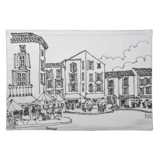 Outdoor Dining | Gordes, South of France Placemat