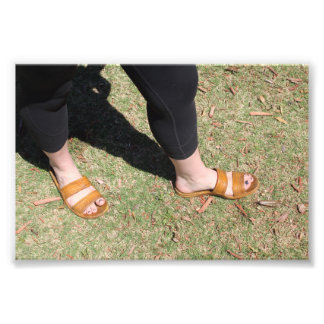 Outdoor Foot Style Photo Print