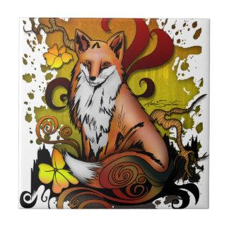 Outdoor Fox Ceramic Tile
